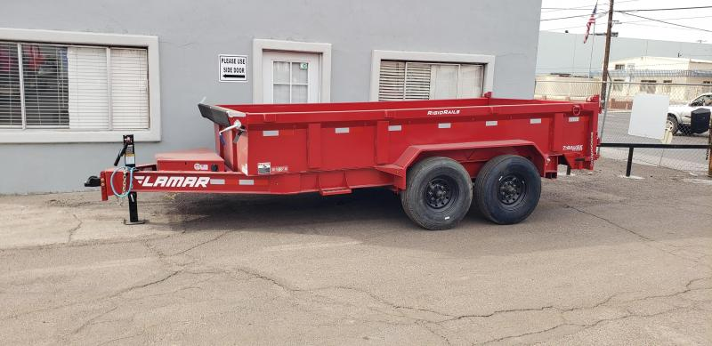 2021 Lamar Trailers DL-8k-14 Dump Trailer -16000# GVWR- 8k Oil Bath Axles- 21k rated Lift - 14 ply tires - Tarp Included- Ramps included-  **Cash Discounts available** See below
