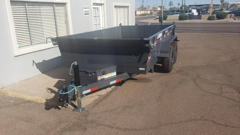 **ON SALE NOW** Lamar Medium Dump Trailer- 6.5 x 12- 9990# GVWR- Ramps- Deluxe Tarp Kit- Adj Coupler-Spreader Gate- Cash Discounts (See Below)