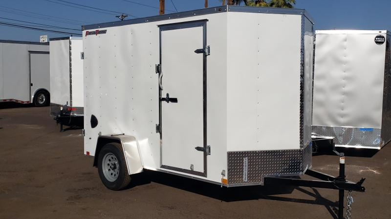 2021 Wells Cargo 6x10ft Fast Trac Enclosed Cargo Trailer
