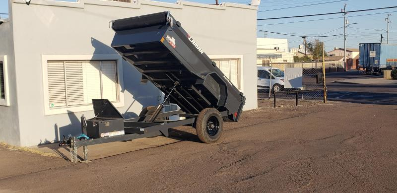 Lamar Mini Dump Trailer 5x10-Single Axle -7000# GVWR -Ramps Deluxe Tarp Kit- Adj Coupler- ** Cash Discounts see below**