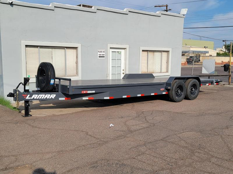 """2021 H8 24' Equipment hauler for sale -14000# GVWR-Steel deck- 8"""" channel Frame-14' ply Tires- spare included. ***Cash Discounts available. See below**"""