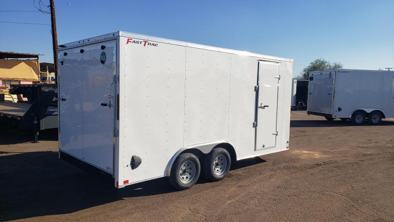 2021 Wells Cargo 8.5 wide by 16' long-  Enclosed Cargo Trailer