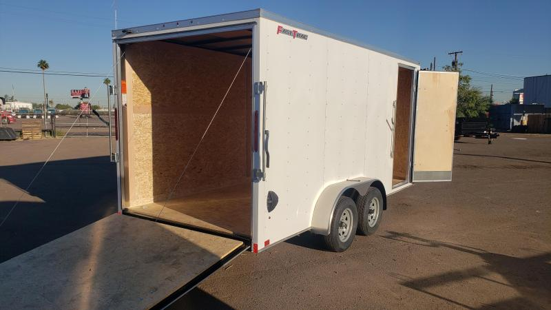 2020 Wells Cargo 7x16ft Fast Trac Enclosed Cargo Trailer