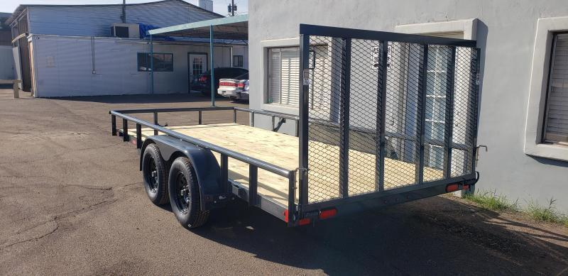2022 Lamar Trailers UC-3.5k-16 Utility Trailer for sale- Channel Frame-7000# GVWR- 4' spring assist gate-cash discount ** See Below**
