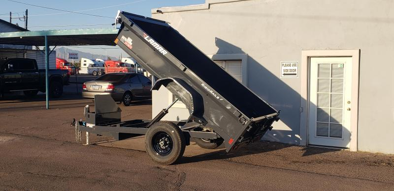 2021 Lamar Single Axle Dump Trailer-Mini Dump for sale -  7000 GVWR- Tarp-Ramps -battery charger -*** Cash Discounts - SEE BELOW***