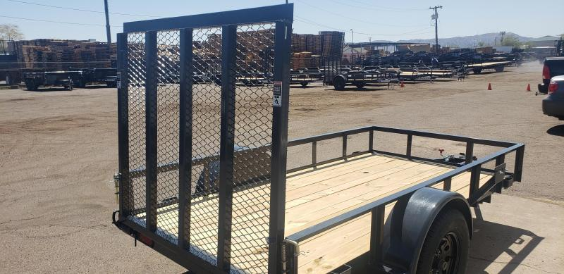 2021 Lamar Trailers UT-3.5k-10 Utility Trailer- 2990# GVWR- 4' spring assist gate- cash discount ** See Below**