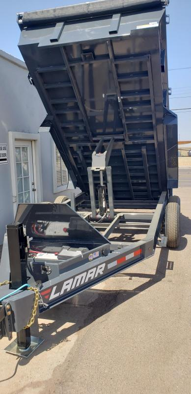 2021 Lamar Trailers DL-7k-14 Dump Trailer for sale -bumper pull- hydraulic jack-Tarp- Ramps - Battery Charger- 7 Gauge Floor - Powder coat finish. *** Cash discounts Available- see below***