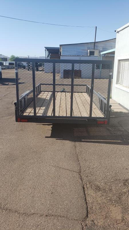 2021 Lamar TrailerUT-3.5k-14 Utility Trailer-7000# GVWR-4' Stand up spring assist gate-cash discount see below