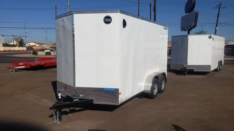 2021 Wells Cargo 14' Fast Trac Enclosed Cargo Trailer