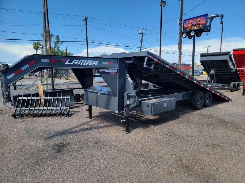 2021 Lamar Trailers FA-7k-24 Equipment Trailer