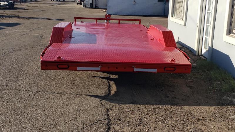 2021 Lamar 20' Open Car hauler 9990# GVWR- Steel deck- 8 flush mount D-rings-  2' dove tail- slide in rear ramps-Drive over fenders **cash discounts** See below