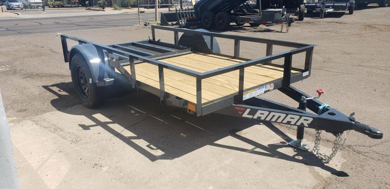 2021 Lamar Trailers UT-3.5k-12 Utility Trailer- 2990# GVWR- 4' spring assist gate- cash discount ** See Below**