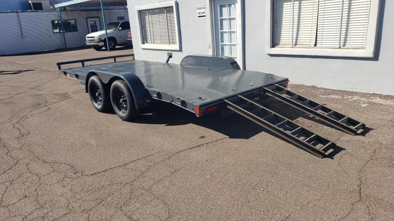 2021 Lamar CE-3.5k-16 Car steel deck  / Open Car Trailers-Steel deck- 7000# GVWR- D-rings- ramps**Cash Discounts available- See below***