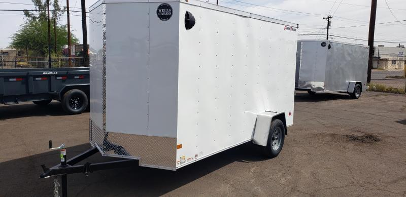 2021 Wells Cargo  6 x 12 Fast Trac Enclosed Cargo Trailer