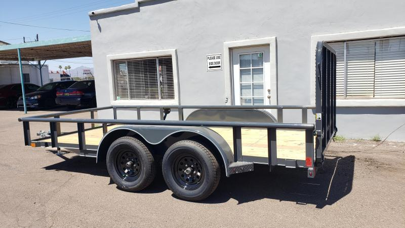 2020 X-onTrailers UT-3.5k-14 Utility Trailer- 7000# GVWR- 4' spring assist gate- free spare- cash discount ** See Below**