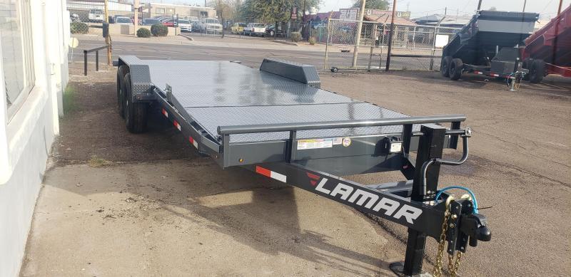 2021 Lamar  20' Tilt  Steel Deck - Split Tilt Equipment Trailer- 14000# GVWR -