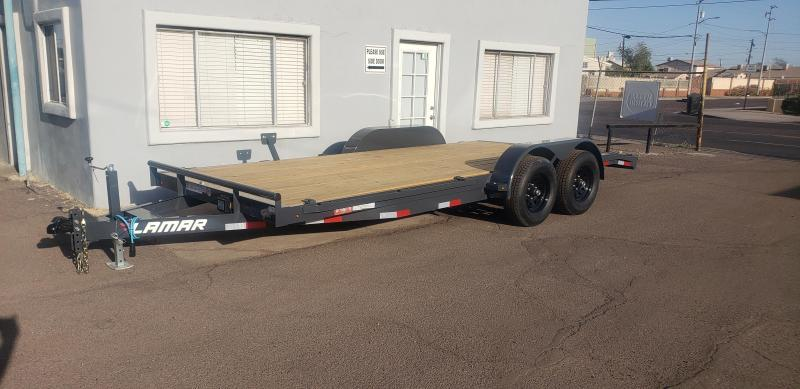 2021 Lamar Trailers ccw-5.2k-18 Car / Open Car Trailers- #9990 GVWR - 5' pull out ramps ** Cash Discounts available see below***