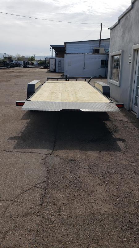 2021 Lamar  20' Tilt Deck Split Tilt Equipment Trailer- 14000# GVWR -