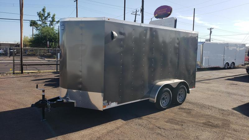 2021 Wells Cargo 7x14ft Fast Trac Enclosed Cargo Trailer