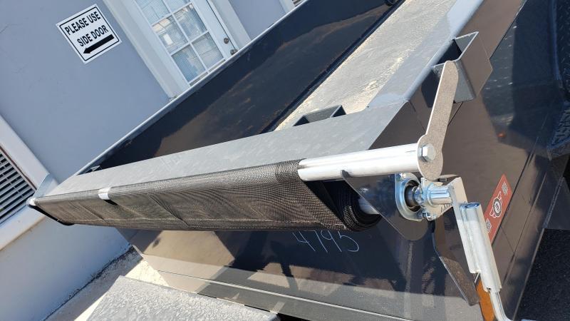 2021 Lamar Dump Trailer-Mini Dump- 7000 GVWR- Tarp-Ramps -battery charger -*** Cash Discounts - SEE BELOW***