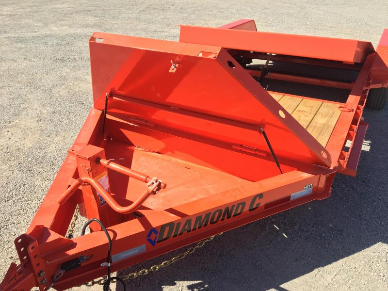 2020 Diamond C Trailers HDT-LPL 20x82 HYD Dampened Trailer