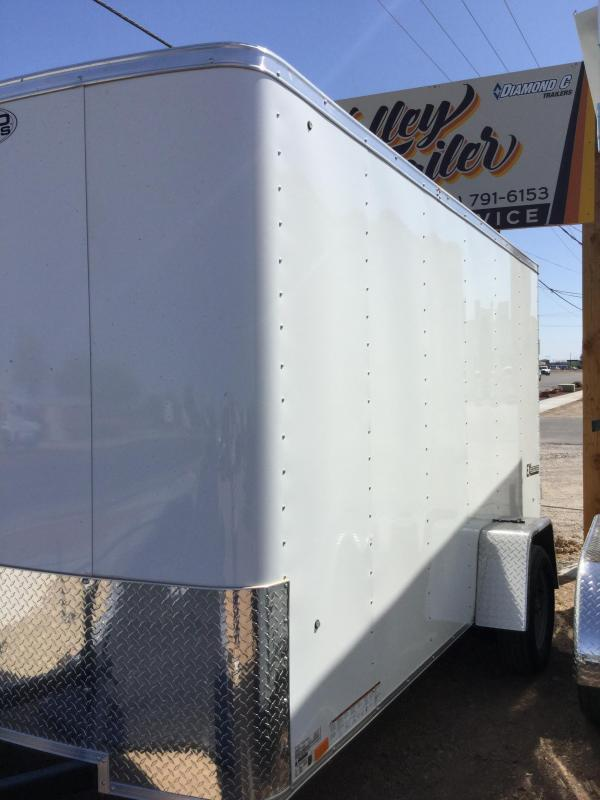 2018 6x12 Cargo Express Ex Single Axle Enclosed Trailer