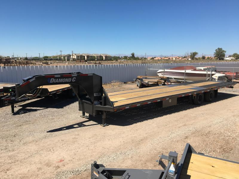 2020 Diamond C Trailers FMAX212 35X102 HD Flatbed Trailer
