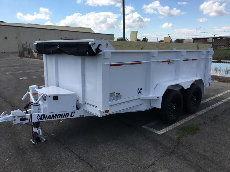 2021 Diamond C Trailers EDM 12X82 32IN SIDES Dump Trailer
