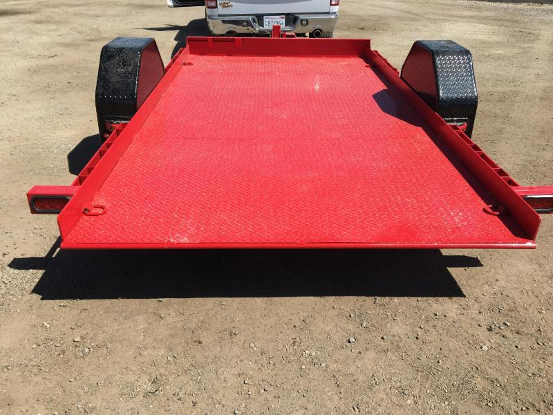 "2020 Diamond C Trailers DSA 12 X 77"" Equipment Trailer"