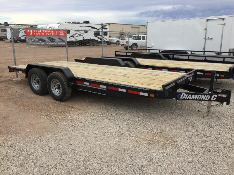 2019 Diamond C Trailers REQ 20X82 Equipment Trailer