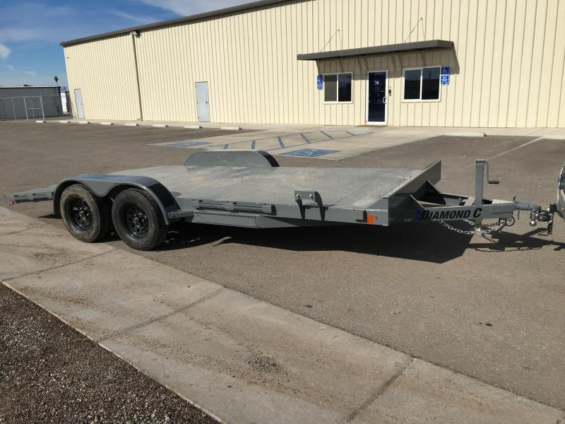 2020 Diamond C Trailers GSF 235 18X83 Car / Racing Trailer