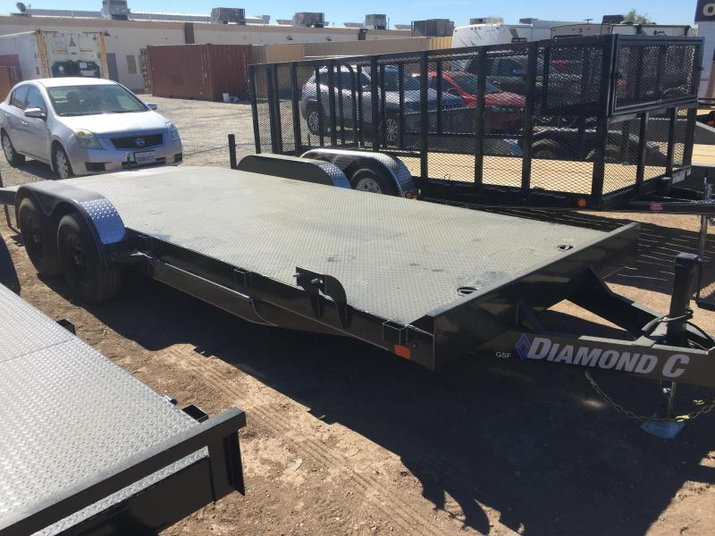 2020 Diamond C Trailers GSF 252 20X83 10K Car / Racing Trailer