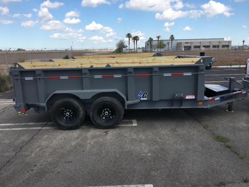 2020 DIAMOND C LPT 207 12 X 82 Dump Trailer