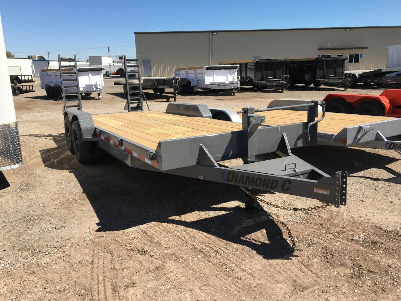 2020 Diamond C Trailers EQT 20X82 Equipment Trailer