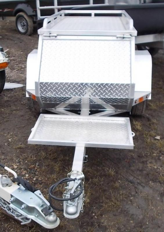 2021 Aluma MCTXL Motorcycle Pull Behind Trailer