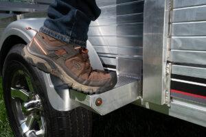 "2022 Floe VersaMax UT 12.5 Utility Trailer with 25"" front and ATV side loading kit"