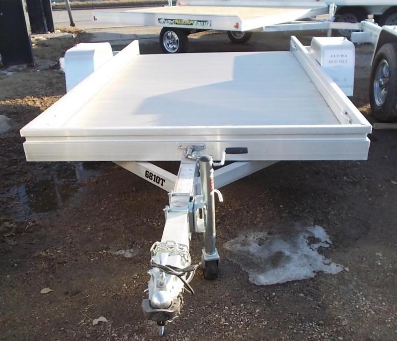 2020 Aluma 6810 TILT Bed Utility Trailer