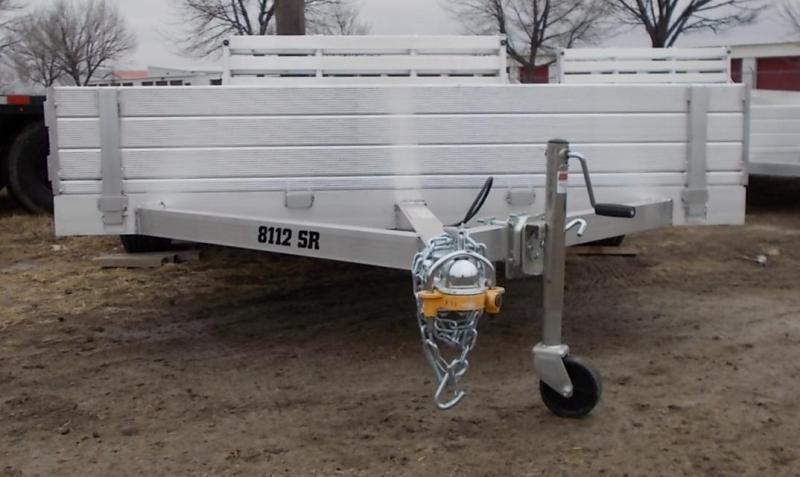 2022 Aluma 8112 BT SR ATV / Utility Trailer