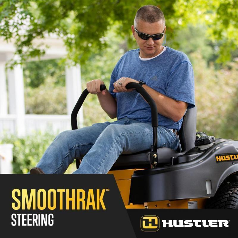 "2020 Hustler Raptor Limited Zero Steer 52"" Deck Lawn Mower with Flex Forks"