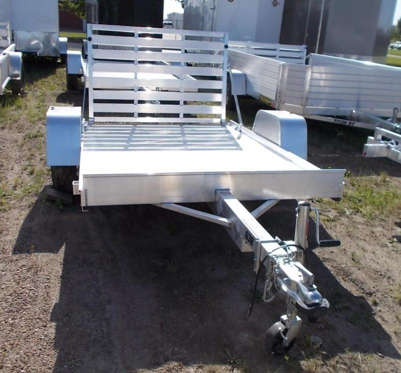 2020 Aluma 638 Utility Trailer with Standard Gate