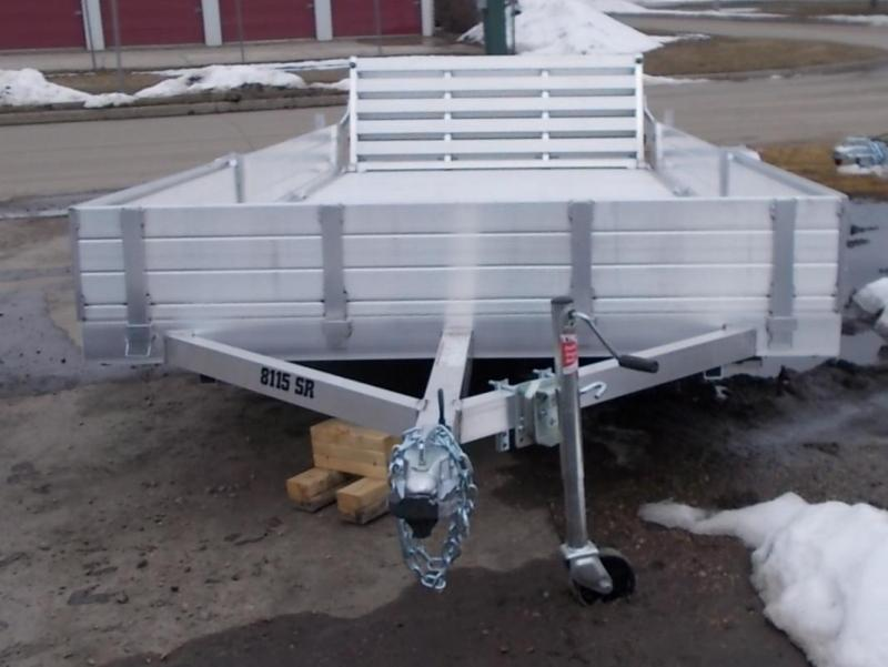 2022 Aluma 8115 BT SR ATV / Utility Trailer
