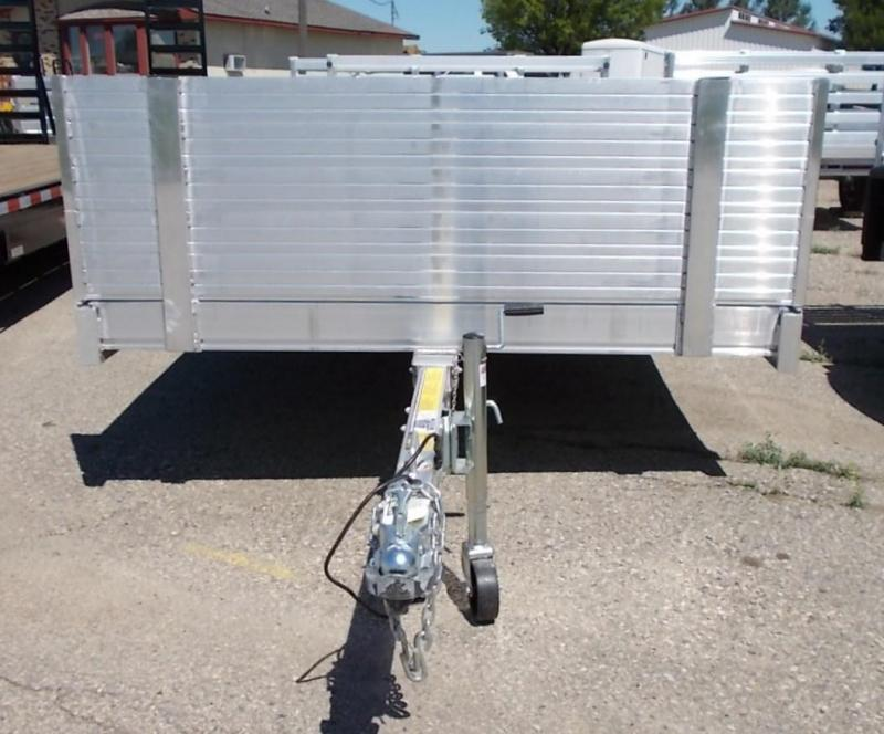 """2022 Floe VersaMax UT 14.5 Utility Trailer with 25"""" front rock guard and atv side loading kit"""