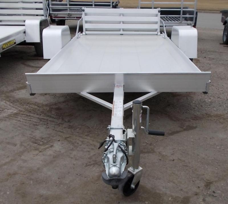 2022 Aluma 6310 BT Utility Trailer with Bi-Fold Gate