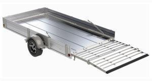 """2022 Floe VersaMax UT 10.5 Utility Trailer with 25"""" removable solid side rack kit"""