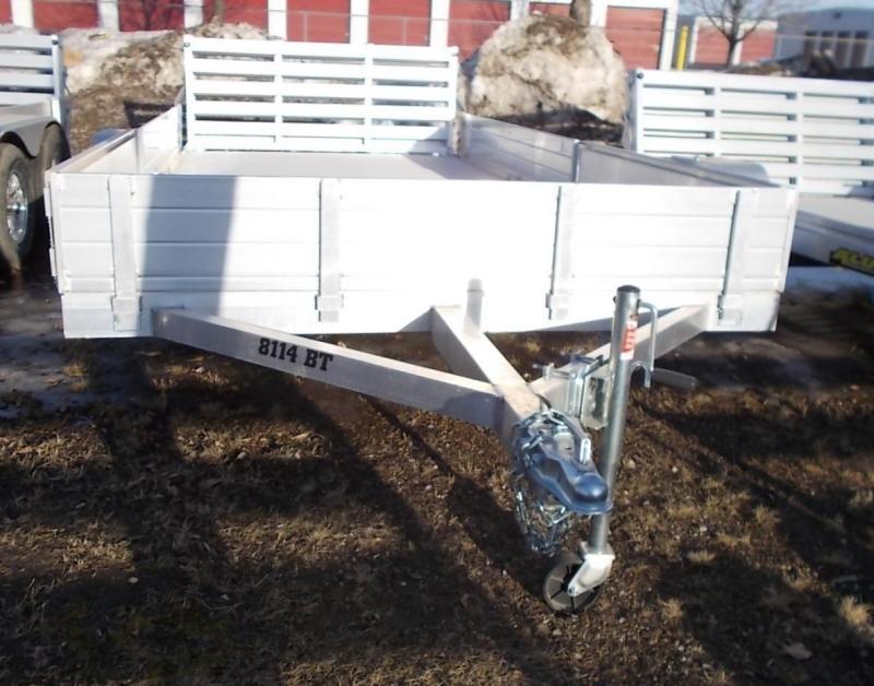 2021 Aluma 8114BT SR ATV / Utility Trailer