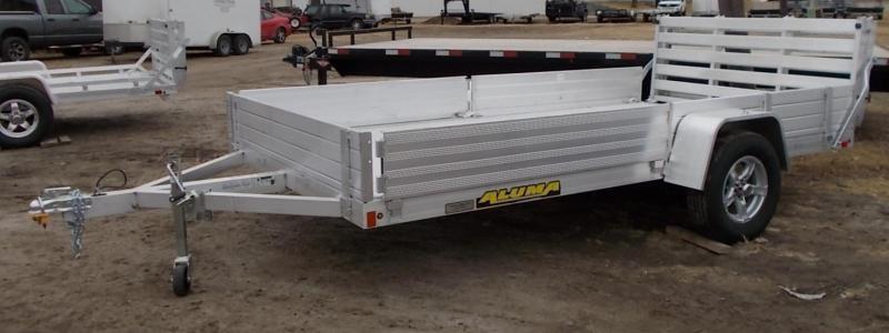 2022 Aluma 8114BT SR ATV / Utility Trailer