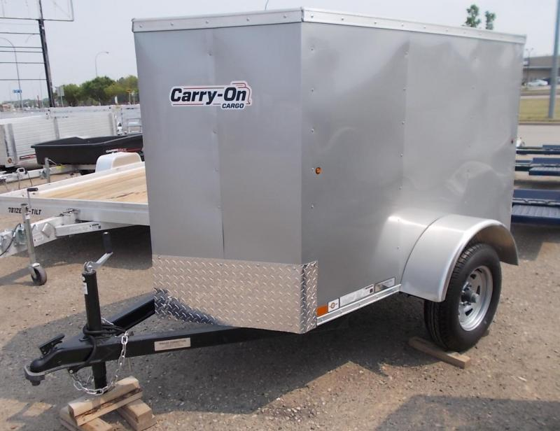 2021 Carry-On 4X6 CGVEC-13 Enclosed Cargo Trailer