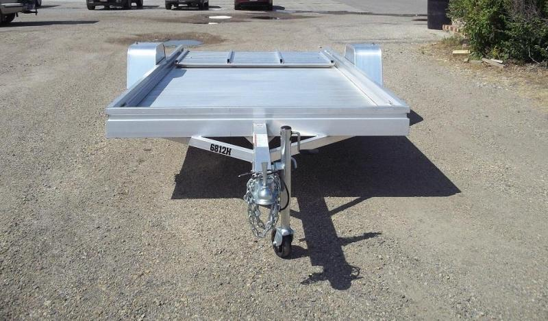 2020 Aluma 6812H Utility Trailer with Standard Tail Gate