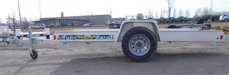 2020 Aluma 8605 Tilt Bed Snowmobile Trailer