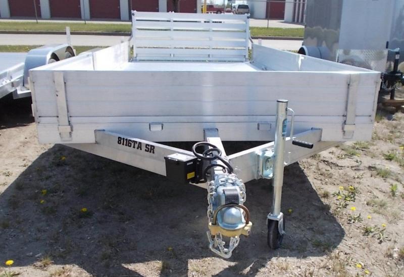 2022 Aluma 8116 TA BT SR ATV / Utility Trailer